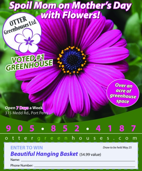 Mother's Day Ad: Greenhouse
