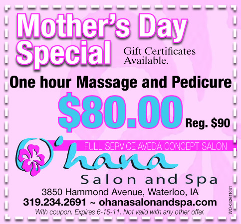 Mother's Day Ad: Pedicure