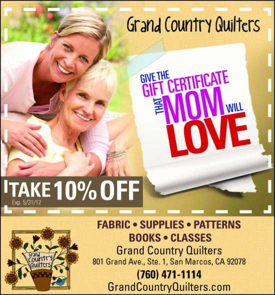 Mother's Day Ad: 10% Off