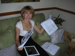 Vice president of marketing Kelly Glass reviews marketing articles