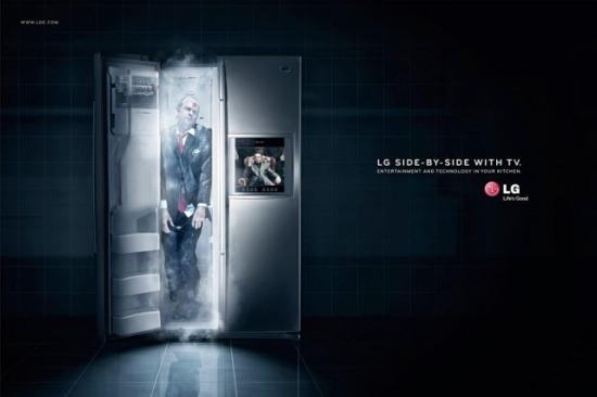 LG Refrigerator Halloween Ad