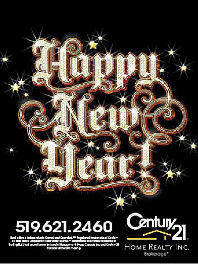 Century 21 New Year's Ad