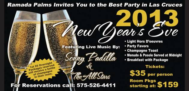 New Year's Party Ad