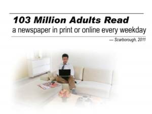 newspaper readership