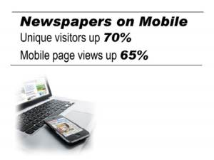 Newspapers on Mobile