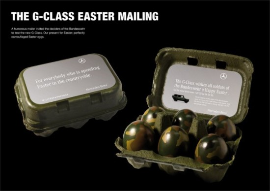 Mercedes-Benz Easter Direct Mail