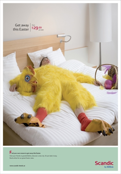 Scandic Hilton Easter Ad