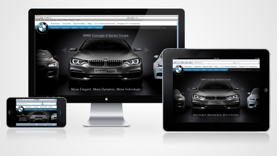 BMW Responsive Website