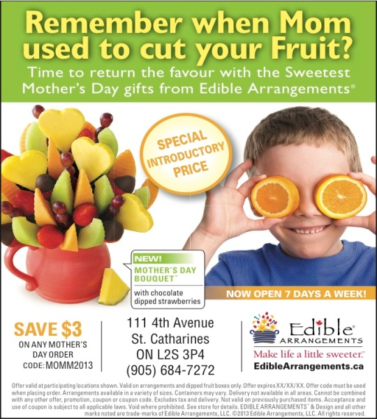 Edible Arrangements Mother's Day Ad