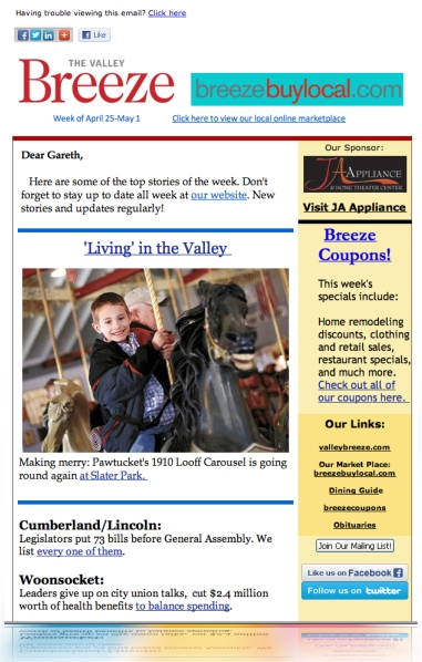 Publisher Email Campaign LMIA