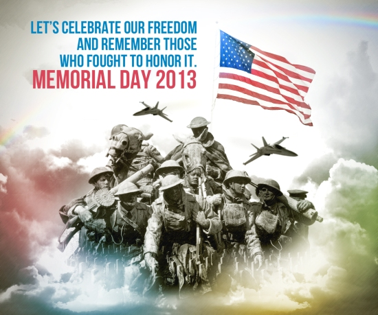 memorial Day 2013 visual