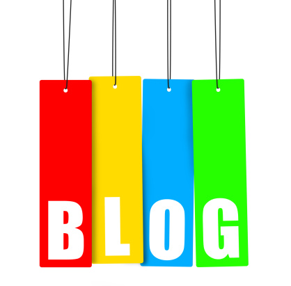 Blog Hanging Tag