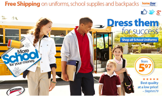 back to school ad by Walmart