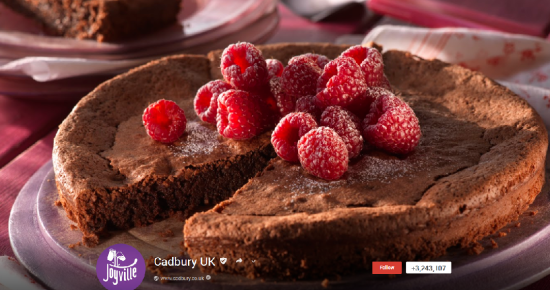 Cadbury UK on Google+