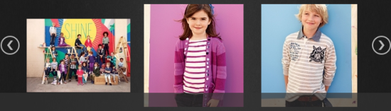 Shine On campaign by Gap kids