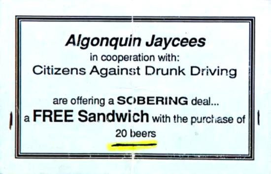 Algonquin Ad