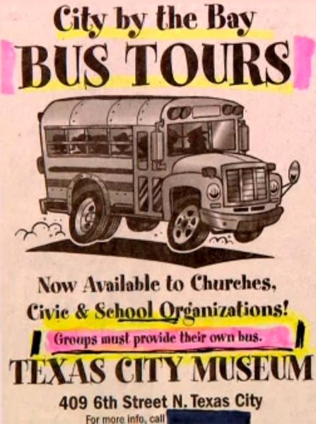 Bus Tour Ad