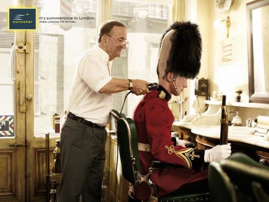 funny ad by Eurostar