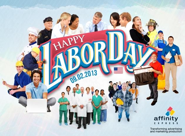 Labor Day visual 2013