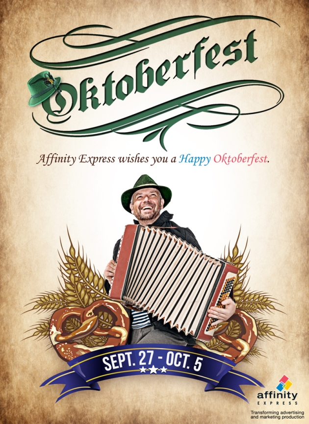 Oktoberfest 2013 visual