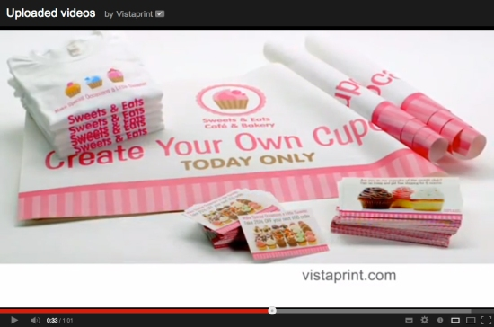 Vistaprint Video Image