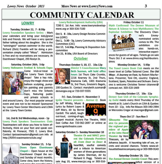 events calendar 1(newspaper)