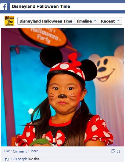 Halloween user content on FB