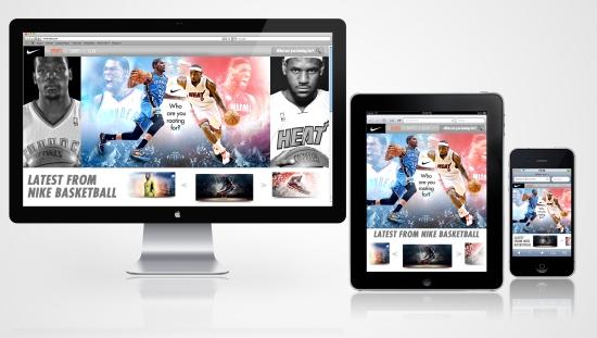 Nike Responsive Website