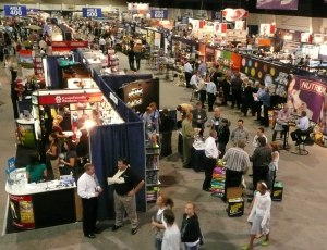 Trade Show Floor from Distance
