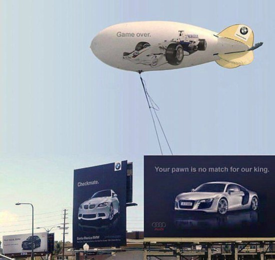 Audi-BMW Outdoor Campaign