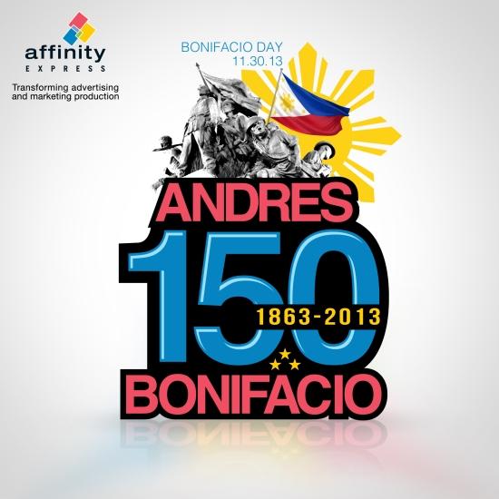 Bonifacio Day 2013 visual