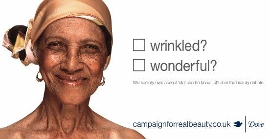Dove Wrinkled Ad