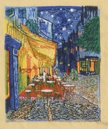 Award-Winning Embroidered Holiday Card