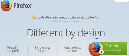 CTA Mozilla Firefox
