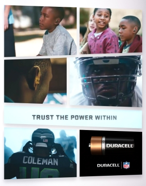 Duracell Commercial Featuring Derrick Coleman of the Seattle Seahawks