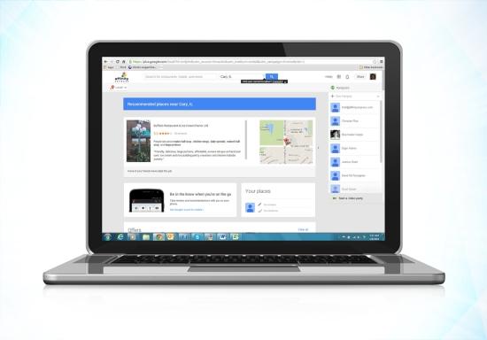 Google Local Visual